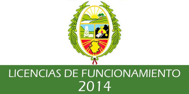 Photo of Estado de las solicitudes de Licencias de Funcionamiento – 2014