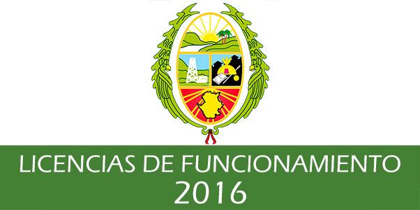 Photo of Estado de las solicitudes de Licencias de Funcionamiento – 2016