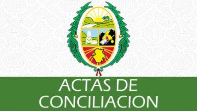 Photo of Actas de Conciliación
